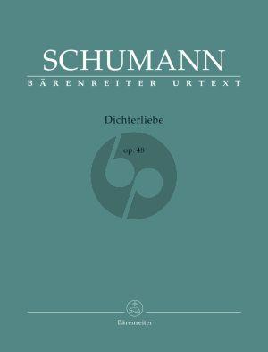 Schumann Dichterliebe Op.48 High Voice (edited by Hansjorg Ewert) (Barenreiter-Urtext)