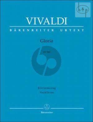 Gloria RV 589 (Soli[SSA]-SATB[Choir]-Orch.) (Vocal Score)
