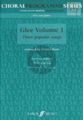 Glee Vol.1 (3 Popular Songs)