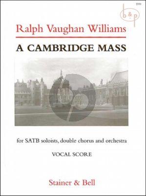 A Cambridge Mass (SATB soloists-SATB/SATB-Orch.)