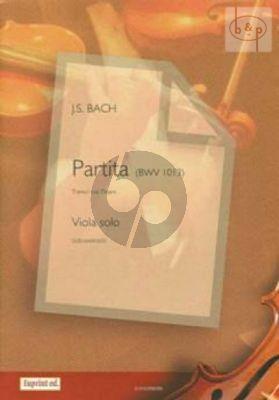 Partita BWV 1013 for Viola Solo