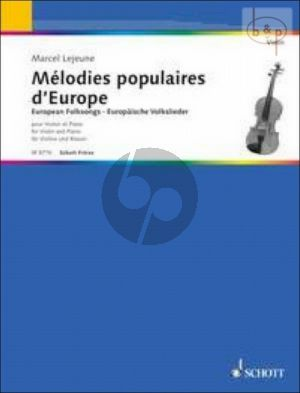 Melodies Populaires d'Europe