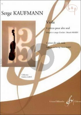 Viola (4 Pieces) (interm.level)