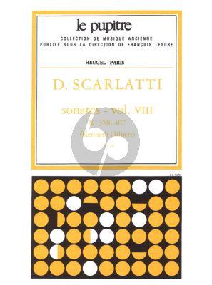Scarlatti Sonates Vol.8 K.358-407 Clavier (Kenneth Gilbert) (Le Pupitre)
