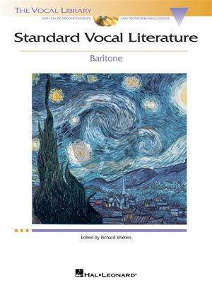 Standard Vocal Literature for Baritone (Bk-Cd) (Richard Walters)
