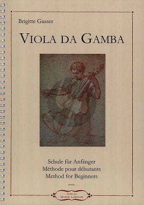 Gasser Viola da Gamba - Schule für Anfänger