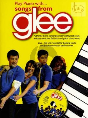 Play Piano with Songs from Glee (Bk-Cd) (Lyrics incl.)