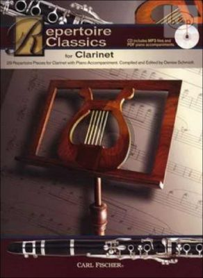 Repertoire Classics Clarinet-Piano (29 Classic Solos)