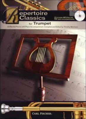 Repertoire Classics (23 Classic Solos) (Trumpet-Piano)