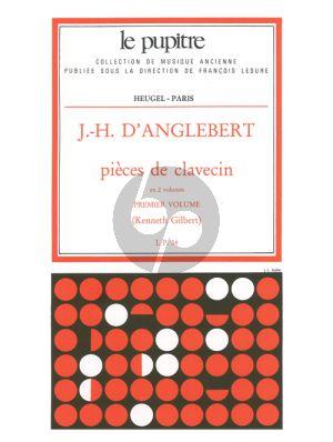 D'Anglebert Pieces de Clavecin Vol.1 (K.Gilbert) (Le Pupitre)
