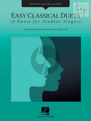 Easy Classical Duets (18 Duets for Student Singers)