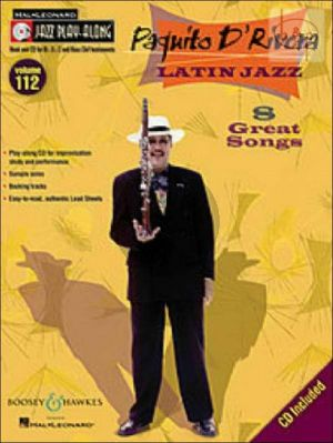 Latin Jazz (8 Great Songs) (Jazz Play-Along Series Vol.112)