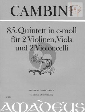 Quintet No.85 c-minor (Score/Parts)