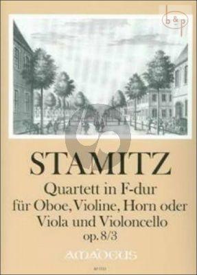 Quartet F-major Op.8 No.3 (Oboe-Vi.-Hrn[Va.]- Vc.)