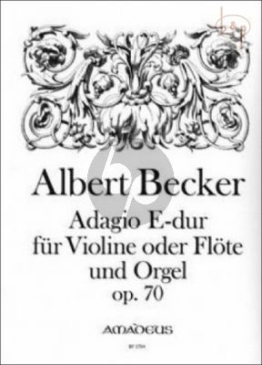 Adagio E-dur Op.70