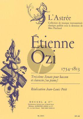 Sonate No.3 Bassoon-Piano