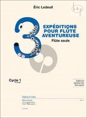 3 Expeditions pour Flute Aventureuse