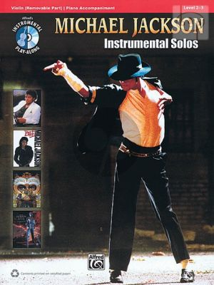 Michael Jackson Instrumental Solos (Violin with Piano Accompaniment)
