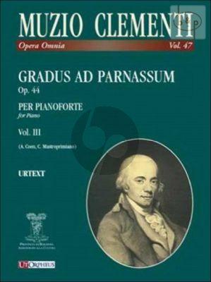 Gradus ad Parnassum Op.44 Vol.3