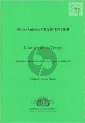 Litanies de la Vierge (2 Sopr.-Bass-Organ Cont.) (H.86)