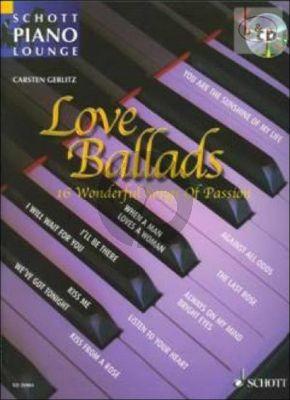 Love Ballads (16 Wonderful Songs of Passion) (Bk-Cd)