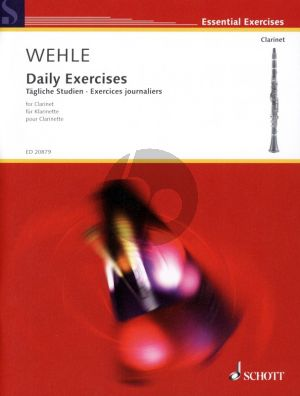 Wehle Tagliche Studien - Daily Exercises for Clarinet