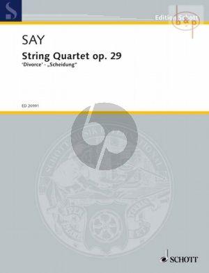 """Quartet Op.29 """"Divorce"""""""