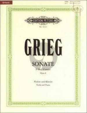 Sonata F-major Op.8 Violin and Piano