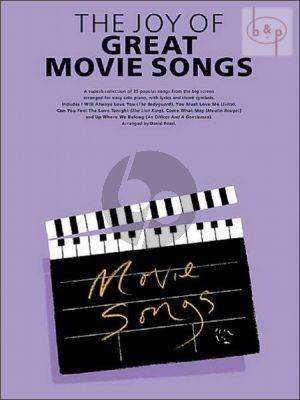 The Joy of Great Movie Songs
