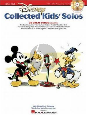 Disney Collected Kid's Solos