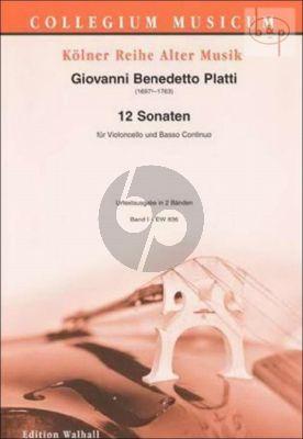 12 Sonaten Vol.1 (No.1 - 6)