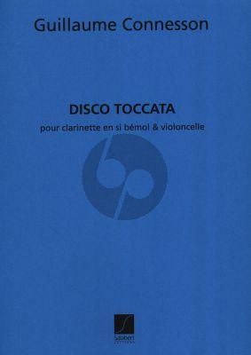 Connesson Disco Toccata Clarinette et Violoncelle