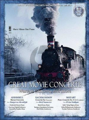 Great Movie Concertos (Warsaw Concerto and More) Piano-Orchestra (Bk- 2 CD's) (MMO)