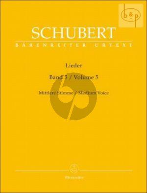 Lieder Vol. 5  Mittel / Medium