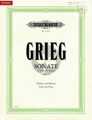 Sonata G-major Op. 13 Violin and Piano