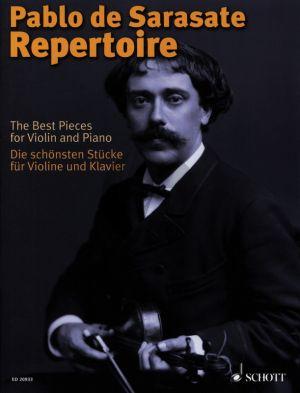 Sarasate Repertoire Die schonsten Stucke Violine - Klavier (edited by Wolfgang Birtel and Friedemann Eichhorn)