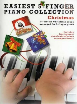 Easiest 5 Finger Piano Collection Christmas