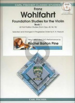 Foundation Studies for the Violin Vol.1 (60 First Position Studies from Op.45 - 54 and 74)