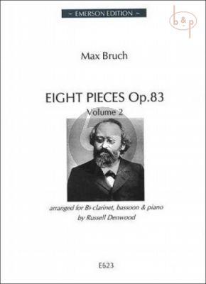 8 Pieces Op.83 Vol.2 (Clar.[Bb]-Bassoon-Piano)