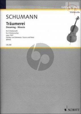 Traumerei Op.15 No.7 (4 Violoncellos)