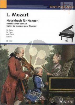 Notenbuch fur Nannerl