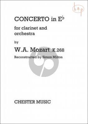 Concerto E-flat KV 268 (Clarinet-Orch.)