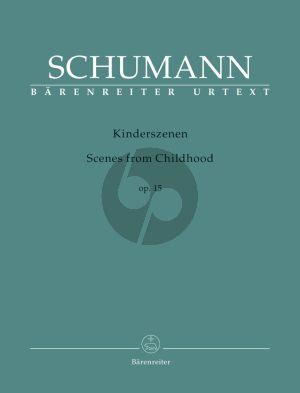 Schumann Kinderszenen Op.15 Piano Solo (edited by Holger M. Stuwe) (Barenreiter-Urtext)