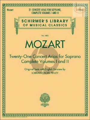 21 Concert Arias for Soprano (Vol.1 - 2 Complete)