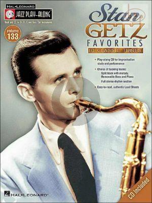 Stan Getz Favorites (Jazz Play-Along Series Vol.133)