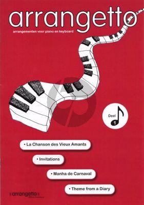 Arrangetto Vol. 1 Piano