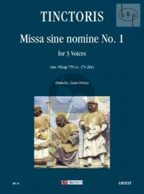Missa sine nomine No.1 (ms.VEcap 755 cc. 17v- 26r) (