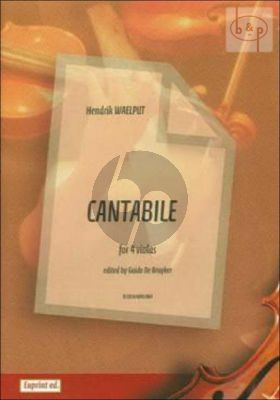 Cantabile (4 Violas)