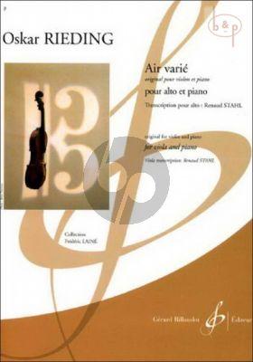 Air Varie C-major (orig.Violin)