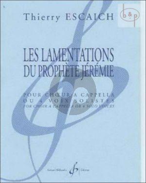 Les Lamentations du Prophete Jeremie